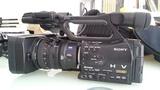 Videocamara sony hvr-z7e + trípode - foto