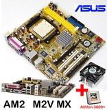 Am2 asus m2v mx + athlon64 3800+ y venti - foto