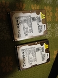 "dos discos duros 160gb 2,5 \"" - foto"