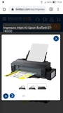 Impresora Inkjet A3 Epson EcoTank ET-140 - foto