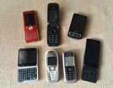 Lote 7 móviles vintage - foto