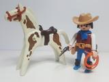 Cuatrero Vaquero Playmobil Western Oeste - foto