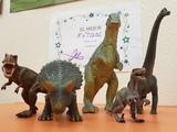 Figuras de dinosaurios - foto