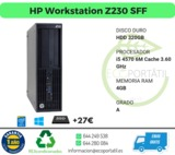 Magnifico hp workstation z230 sff - foto