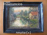 Cuadro,pintura antigua. georg preston - foto