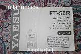 manual en castellano del yaesu FT-50R - foto