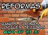 REFORMAS en Pisos Baños Local..Seriedad - foto