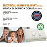 MANTA ELECTRICA DOBLE FAMILIAR 160X140CM - foto