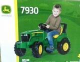 Tractor de pedales john deere +3 aÑos - foto