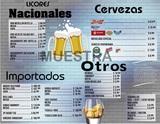 MenÚ para cafe/ bar/ restaurant,etc - foto