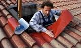 goteras en tejados y cubiertas - foto