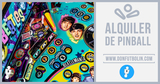 Alquiler de pinball congresos madrid - foto