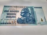 100 trillones trillion zimbabw autentico - foto