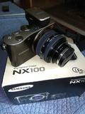 Cámara sin espejo Samsung NX100 - foto