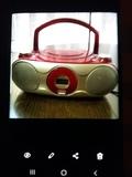 Radio CD portátil - foto