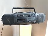 Radio cd caset sony - foto