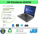 HP EliteBook 8560W Nvidia Quadro - foto