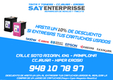 SAT ENTERPRISSE - TINTA Y TONER AL 50% - foto