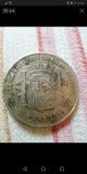 Moneda 5 pesetas de 1870 - foto