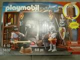 Playmobil cofre medieval herrería - foto