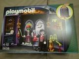 Playmobil cofre laboratorio monstruos - foto
