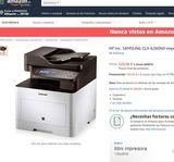 Impresora multisesión Samsung CLX-6260ND - foto