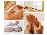 Masaje terapéutico con piedras calientes - foto