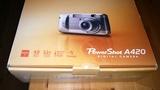 Camara  Canon power shot  A420 - foto