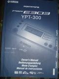 Manual instrucciones Yamaha YPT 300 - foto