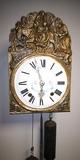 Reloj  Morez pared del Siglo XIX. - foto