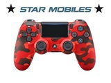 Mando Sony Dualshock 4 rojo camuflaje V2 - foto