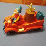 Antiguo coche de bomberos jyesa - foto
