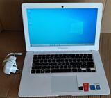 portatil hp-4gb ram-250gb d.duro-w10 pr - foto