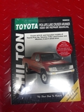 (O) Toyota 4x4 Manual CHILTON - foto