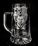 Messi - Grabado sobre cristal - foto