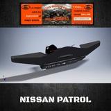 PARAGOLPES NISSAN Y60 (ARC) - foto
