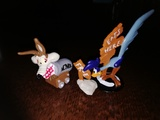Looney tunes, coyote y correcaminos 1994 - foto