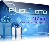 TARJETA REGALO CURSO FOTOGRAFÍA 2021 - foto