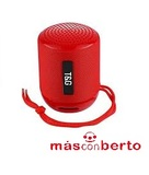 Altavoz Bluetooth T&G Rojo - foto