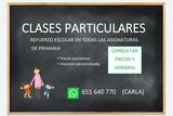 CLASES PARTICULARES:  REFUERZO ESCOLAR - foto