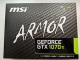 MSI GeForce GTX 1070Ti Armor 8 GB - foto