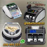 Contadora detector de billetes y monedas - foto