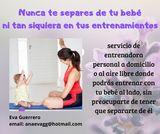Mamás con bebés. entrenadora personal - foto