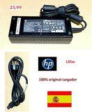 HP Cargador original 135W -con cable - foto