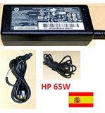 HP Cargador original 65W -con cable - foto