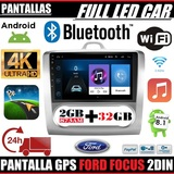 AUTO RADIO 2DIN GPS FORD FOCUS ANDROID - foto