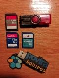 USB y tarjetas SD, 30Gb - foto