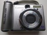 Camara canon powershort a80 - foto