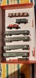 Locomotora y vagones escala N - foto
