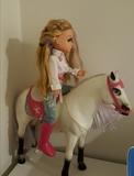 nanci y su caballo - foto